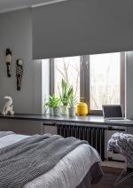 Товары для дома Домашний текстиль Светонепроницаемые ролло Эскар blackout Графит