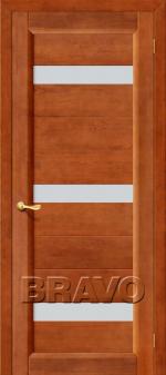 Двери Межкомнатные Вега-2 Т-31 (Темный Орех) ПЧО СТ-Кризет