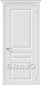 Двери Межкомнатные Скинни-14 Whitey