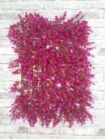 Ковролин Искусственная трава Искусственная трава модульная Фолкнер розовый №8