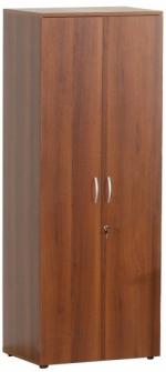 Мебель Витра Шкаф для одежды малый с замком Альфа 62.43 орех Пегас
