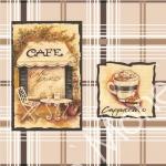 Стеновые панели ПВХ Кафе Черное 311-2