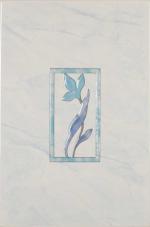 Керамическая плитка Шахтинская плитка (Unitile) Венера декор голубой