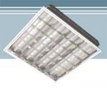 Строительные товары Подвесные потолки Светильник  RVA 418 в комплекте с лампами Osram 18W/640
