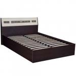 Мебель Витра Кровать с подъемным механизмом Ривьера 95.21 дуб Венге, Беленый дуб