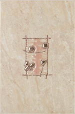 Керамическая плитка Шахтинская плитка (Unitile) Селлинг декор