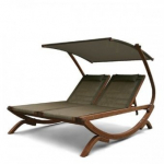 Мебель Садовая мебель Шезлонг-лавка Мальта оливковый AFM-510