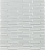 Стеновые панели ПВХ Кирпич модерн перламутровый