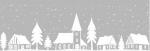 Самоклеющаяся пленка D-C-Fix Новогодний витражный бордюр Winter Border W2 Зимний город