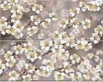 Керамическая плитка Azori Панно Amati Sakura