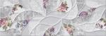 Керамическая плитка Eletto Настенная плитка Malwia Grey Floris ректификат