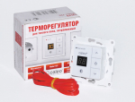 Подложка, порожки и все сопутствующие для пола Теплые полы Терморегулятор CALEO 720 с адаптерами