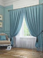 Товары для дома Домашний текстиль Элисс (голуб.) 950123