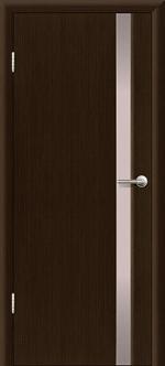 Двери Межкомнатные Гранд-М  исп. 1  вариант 1 с белым триплексом Венге