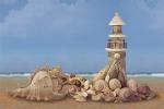 Стеновые панели Кухонные фартуки Морской пляж 040602-00