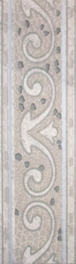 Керамогранит Lasselsberger Ceramics Бордюр напольный Тенерифе 3604-0104 серебрянный