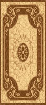 Ковры ТАТ Brilliant Collection 0085 cream-l.brown овал