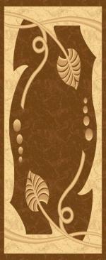 Ковры ТАТ Brilliant Collection 0344 l.brown-l.brown овал