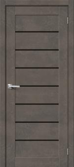 Двери Межкомнатные Браво-22 Brut Beton/Black Star