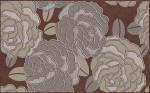 Керамическая плитка Belleza Декор Лидия коричневый