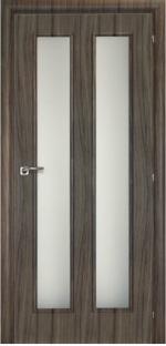Двери Межкомнатные Saluto 202 v серый палисандр