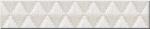 Керамическая плитка Azori Бордюр Illusio Bianco Geometry