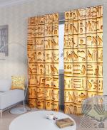 Товары для дома Домашний текстиль Египетские иероглифы 900284