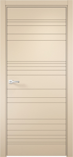 Двери Межкомнатные Дверное полотно Севилья 20 Софт Панакота