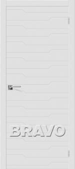 Двери Межкомнатные Граффити-1 К-23 (Белый) ПГ