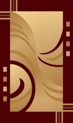 Ковры ТАТ Brilliant Collection 0706 beige-red