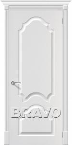 Двери Межкомнатные Скинни-32 П-24 (Белый) ПГ