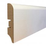 Плинтус Smartprofile Плинтус МДФ Smartprofile 3D Wood 80М белый