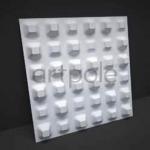 Стеновые панели 3D панели Chaos M-0013