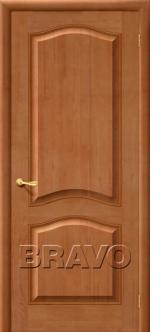 Двери Межкомнатные М7 Т-05 (Светлый Лак) ПГ
