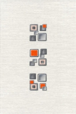 Керамическая плитка Газкерамик Декор Laura Cube серый