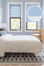 Товары для дома Домашний текстиль Ролло День-Ночь Голубой