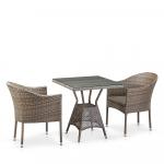 Мебель Садовая мебель Набор 2+1 T706G/Y350G-W1289 2Pcs Pale