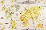 Обои Артекс 10078-02 Карта