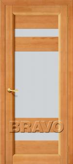 Двери Межкомнатные Вега-2 Т-30 (Светлый Орех) ПО СТ-Кризет
