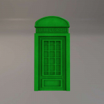 Стеновые панели 3D панели Telephone M007