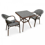 Мебель Садовая мебель Набор 2+1 T130/C029-TX 70x70 2Pcs