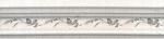 Керамическая плитка Kerama Marazzi Бордюр багет Кантри Шик белый декорированный BLB028