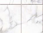 Стеновые панели ПВХ Мрамор белый