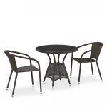 Мебель Садовая мебель Набор 2+1 T707ANS/Y137C-W53 2Pcs Brown