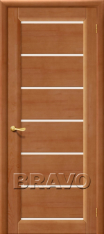 Двери Межкомнатные М2 Т-05 (Светлый Лак) СТ-Матовое