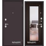 Двери Входные Бульдорс ECONOM Ларче шоколад E-140 mirror