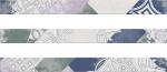 Керамическая плитка Eletto Комплект бордюров Provence Grey Luberon