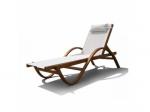 Мебель Садовая мебель Шезлонг-лежак Мальта белый AFM-511