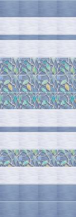 Стеновые панели ПВХ Этель голубая