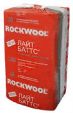 Для дачи Изоляционные материалы Минераловатная плита ROCKWOOL Лайт Баттс 50 мм